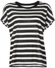 Rta - striped T-shirt - women - Cotton/Cashmere - XS, S - BLUE