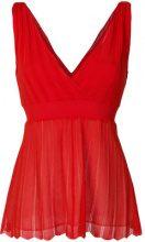 P.A.R.O.S.H. - Vestito a coste - women - Cotton/Polyester/Viscose - S - RED