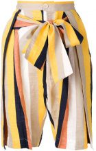 Henrik Vibskov - Shorts 'Flip' - women - Cotton/Linen/Flax/Polyester - M, XS, S - MULTICOLOUR