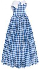Natasha Zinko - Abito a quadretti - women - Cotton/Polyester - 34, 36, 38, 32 - BLUE