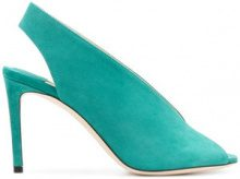 Jimmy Choo - Sandali 'Shar 85' - women - Calf Leather/Leather - 36, 37.5, 38, 38.5 - GREEN