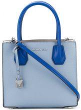 Michael Michael Kors - Borsa Tote 'Mercer' media - women - Leather - OS - BLUE