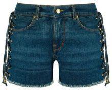 Amapô - denim shorts - women - Cotone/Elastodiene - 34, 36, 38, 40, 42, 44 - Blu