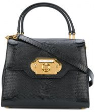 Dolce & Gabbana - Borsa a mano 'Welcome' - women - Calf Leather - One Size - BLACK