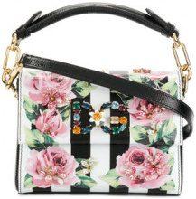 Dolce & Gabbana - DG Millennials crossbody bag - women - Cotton/Leather - OS - WHITE
