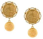 Dolce & Gabbana - Orecchini galvanizzati - women - Brass - OS - METALLIC