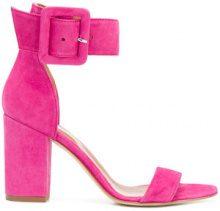 Paris Texas - Sandali con cinturino alla caviglia - women - Suede/Leather - 37.5, 38, 40 - Rosa & viola