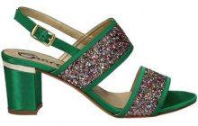 Sandali Grace Shoes  3072 Sandalo tacco Donna Verde