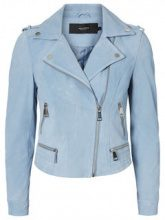 VERO MODA Suede Jacket Women Blue