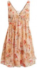 VILA Flower Patterned Dress Women Pink