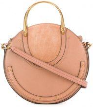 Chloé - Pixie medium bag - women - Calf Leather/Goat Skin/Cotton - One Size - NUDE & NEUTRALS
