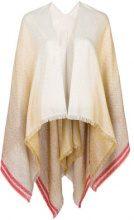 Missoni - Mantella di maglia - women - Cotton/Acrylic/Polyamide/Metallic Fibre - OS - NUDE & NEUTRALS