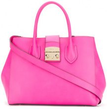 Furla - Borsa tote 'Metropolis' - women - Leather - OS - PINK & PURPLE