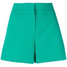 Emilio Pucci - Shorts a vita alta - women - Cotone/Wool/Silk/Viscose - 38, 40, 44 - Verde
