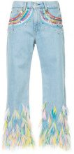 Romance Was Born - Jeans 'rainbow visions' - women - Cotone - 25, 28, 30, 31 - Blu