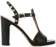 Valentino - Sandali 'Rockstud' - women - Leather - 35, 35.5, 36, 36.5, 37, 37.5, 38, 38.5, 39, 40, 40.5, 41 - BLACK