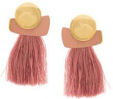 Lizzie Fortunato Jewels - Mulberry fringe earrings - women - metal - One Size - Rosa & viola