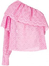 MSGM - Blusa - women - Cotton/Polyester - 38 - PINK & PURPLE