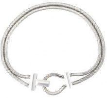 Lara Bohinc - 'Schumacher' toggle necklace - women - Metal (Other) - OS - METALLIC
