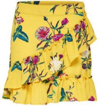 ONLY Printed Skirt Women Yellow