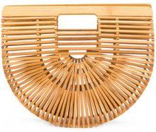 Cult Gaia - Clutch 'Ark' - women - Bamboo - OS - NUDE & NEUTRALS
