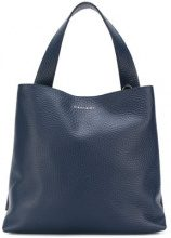 Orciani - square tote bag - women - Calf Leather - OS - BLUE