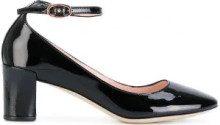 Repetto - Pumps con cinturino alla caviglia - women - Leather/Patent Leather - 38.5, 39, 39.5, 40, 36, 37, 38, 35, 37.5 - BLACK