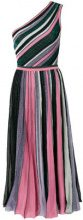 Missoni - one-shoulder striped dress - women - Silk/Polyamide/Polyester/Viscose - 40, 44 - MULTICOLOUR