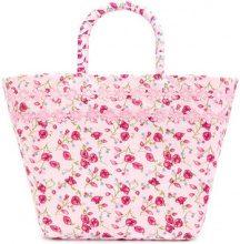 Faliero Sarti - Borsa a fiori - women - Cotton/Polyester - OS - PINK & PURPLE