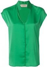 By Malene Birger - Camicia 'Fiona' - women - Silk/Spandex/Elastane - 40, 42 - Verde