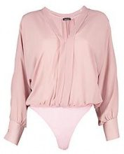 Heather Chiffon Blouse Bodysuit