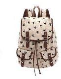 HITOP accessori donna moda vintage di alta qualità su tela semplici Dayan borsa tracolla per il tempo libero zaini zaino borsa -34 x 42 x 16 cm (L x H x D)