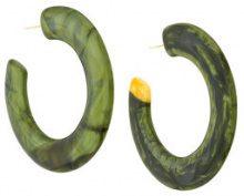 Cult Gaia - Orecchini oversized - women - Acrylic - One Size - GREEN