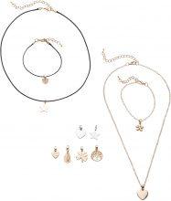 Set di gioielli (set 14 pezzi) (Oro) - bpc bonprix collection