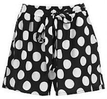 Milly Polka Dot Tie Belt Shorts