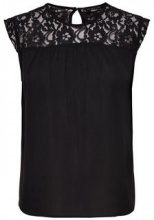 ONLY Lace Sleeveless Top Women Black
