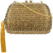 Serpui - glitter clutch - women - Acetate - OS - METALLIC