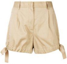 Moncler - Shorts con fiocchi laterali - women - Cotton - 40, 42, 44, 38 - unavailable