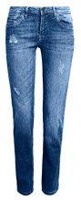 edc by Esprit 997cc1b822, Jeans Slim Donna, Blu (Blue Medium Wash 902), W28/L32
