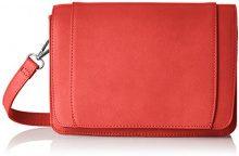 PIECES Pciben Crossbody - Borse a tracolla Donna, Rosso (Flame Scarlet), 8x15x23 cm (B x H T)