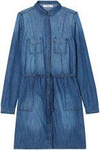 FIND Vestito Chemisier in Jeans Donna, Blu (Blue), 40 (Taglia Produttore: X-Small)