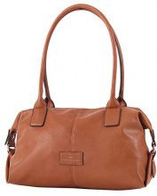 Tom Tailor Acc  MIRIPU Shopper cognac,  Borsa bowling donna