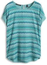 Esprit - Regular Fit, T-Shirt Donna, Multicolore (Dusty Green 335), S (Tallia Produttore: S)