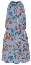ONLY Printed Sleeveless Dress Women Blue