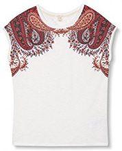 ESPRIT 027ee1k014, T-Shirt Donna, (off White), 38 (Taglia Produttore: Medium)