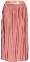 FIND Pleated Midi Gonna Donna, Rosa (Old Rose/gold), 42 (Taglia Produttore: Small)