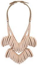 Papieta - Collana 'Venus' - women - Calf Leather - OS - NUDE & NEUTRALS