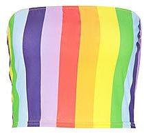 Brodie Fascia a righe arcobaleno