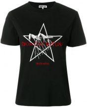 McQ Alexander McQueen - T-shirt con stampa - women - Cotone - XS - Nero
