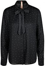 Marc Cain Additions JA 51.05 W01, Blusa Donna, Mehrfarbig (Black And White 910), 44